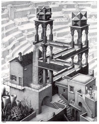 Escher_Waterfall