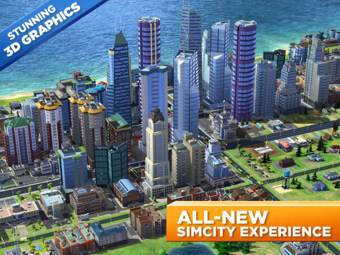 SimCity BuildIt ????? ?? iOS ? Android
