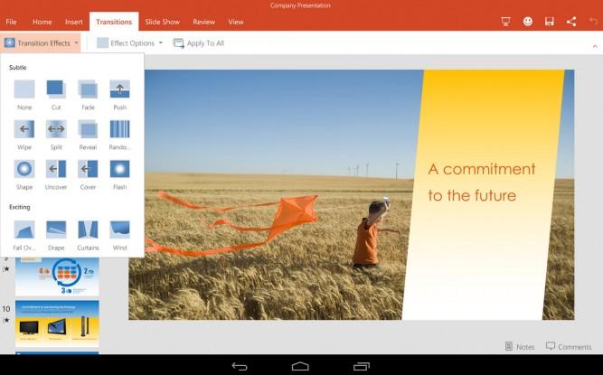 офис для планшета андроид скачать бесплатно - фото 3