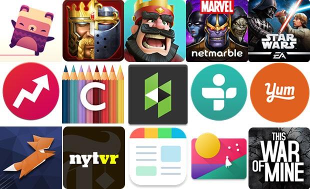 лучшие игры и приложения для андроид