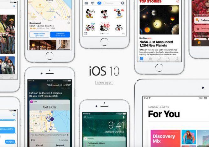 Apple выпустила публичные бета-версии iOS 10 иmacOS Sierra