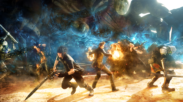 Декабрьский патч увеличит работоспособность Final Fantasy 15 наPS4 Pro, скриншоты