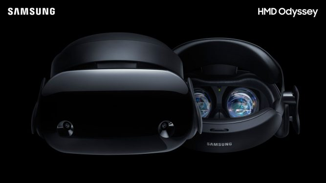 Samsung HMD Odyssey: лучший шлем для Windows Mixed Reality