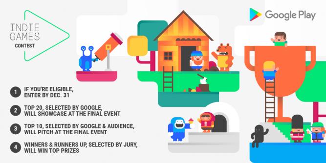 Открывается второй конкурс инди-игр Google Play Indie Games Contest