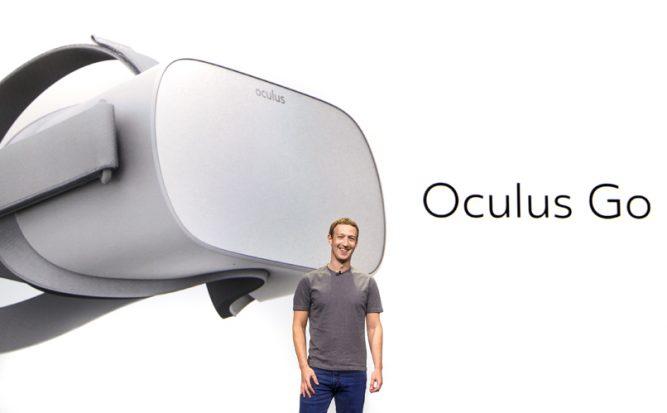 Oculus представил новый отдельный шлем Oculus Go