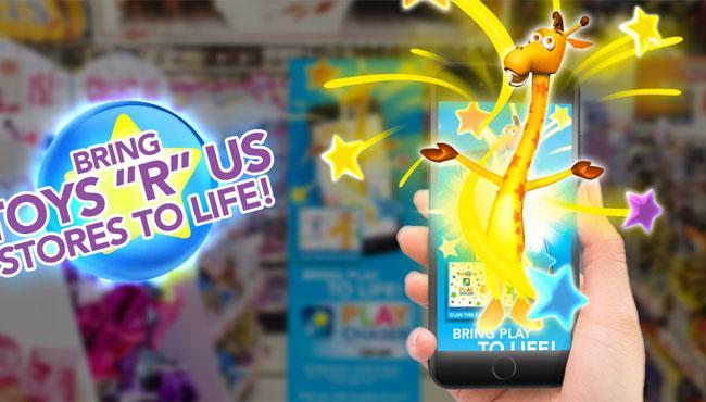 Toys R Us спасается дополненной реальностью