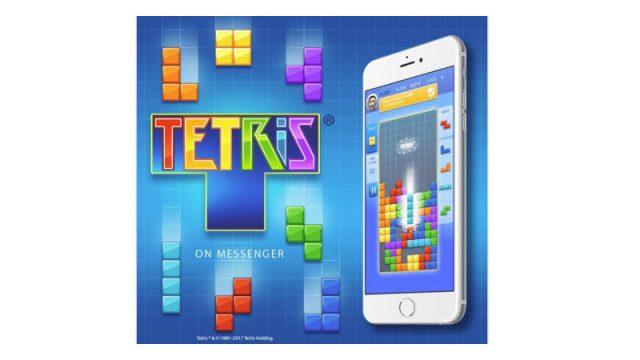 Тетрис вышел в Facebook Messenger