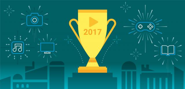 Лучшие игры и приложения Google Play 2017