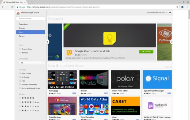 Google удаляет Chrome Apps