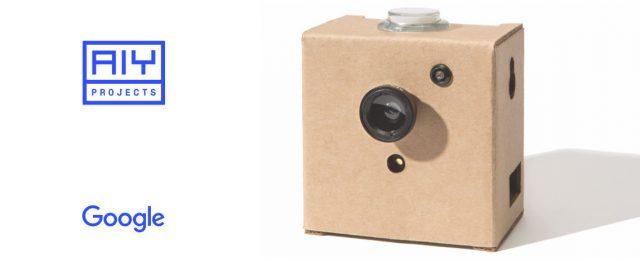 """AIY Vision Kit: """"картонная"""" система компьютерного зрения"""