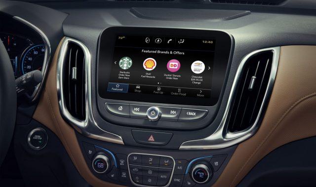 GM открывает встроенный в автомобили Marketplace