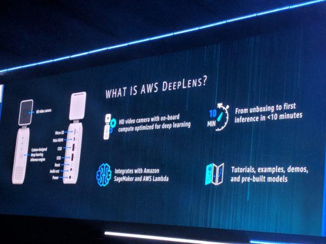 Amazon представил беспроводную камеру DeepLens с поддержкой глубинного обучения
